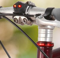 Fancy - Skull LED Bike Lights by Kikkerland