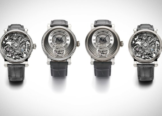 Grieb & Benzinger Shades of Grey Collection: Meticulous And Masculine
