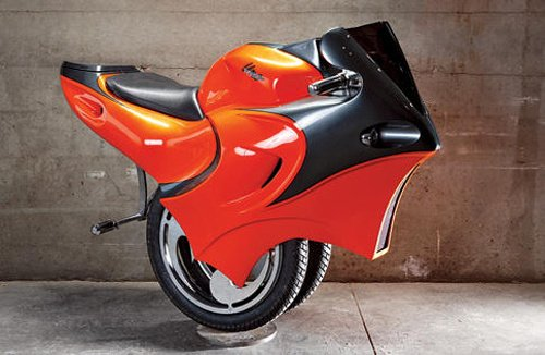 Uno Bike Goes From Stunningly Cool to Stupidly Ridiculous in 0.5 Seconds