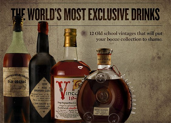 The World's Most Exclusive Drinks « Sharp - Canada's Magazine for Men Sharp – Canada's Magazine for Men