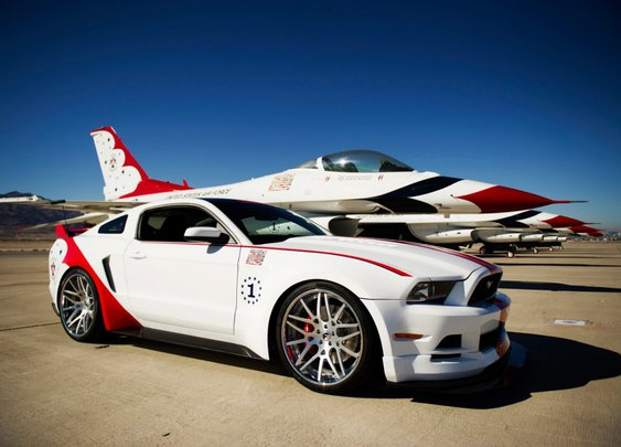 USAF Thunderbirds Edition Mustang: Quench Your Need For (Ground) Speed