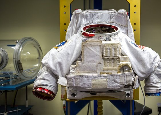How Astronauts Put on Their Space Suits