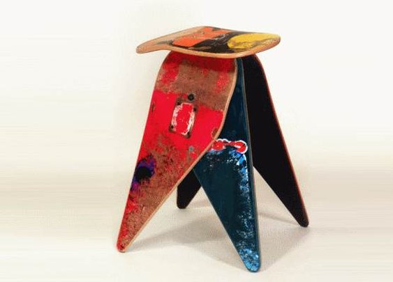 Deckstool, the Skateboard Transformed | Baxtton