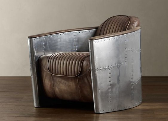 Restoration Hardware Aviator Chair | Cool Material