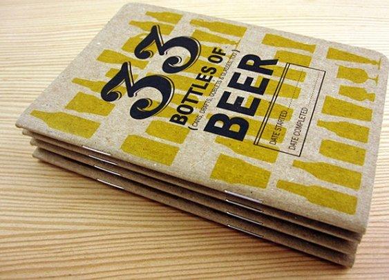 33 Beers Journal, for True Beer Lovers   Baxtton