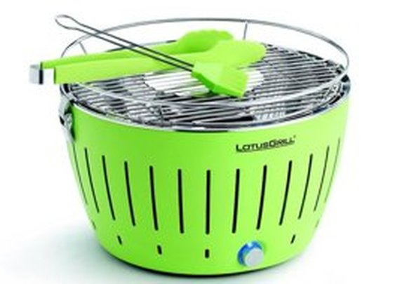 The Lotus Grill:  Super Fast Battery Powered Grilling