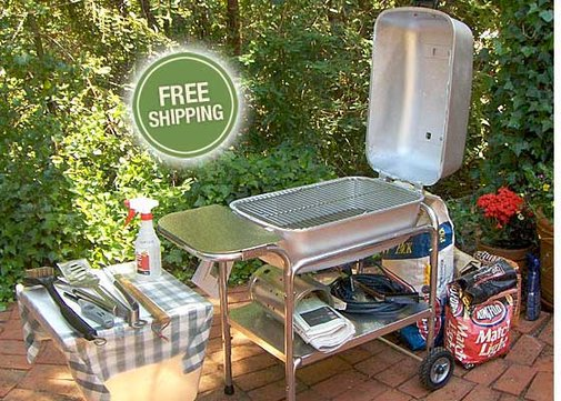 Barbecue Grill Charcoal Smoker | PK Grills | Bourbon & Boots