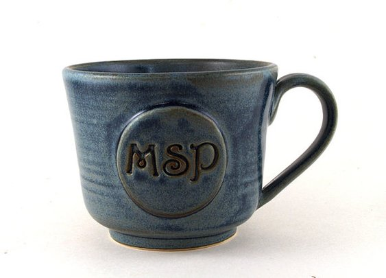 Personalized Mug: Monogram or Initials  | etsy
