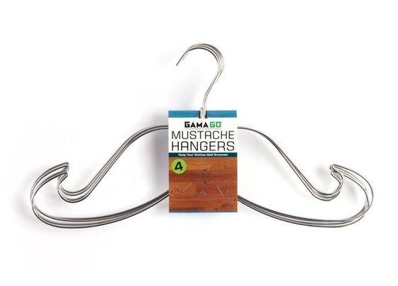 Mustache Hangers by GamaGo