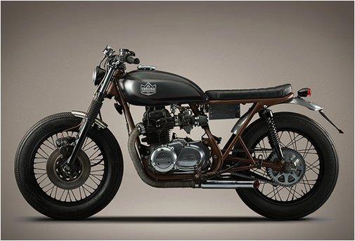 KAWASAKI KZ400   BY LA CORONA MOTORCYCLES
