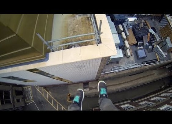 Jaw-Dropping POV Video Lets You Experience Parkour Vicariously