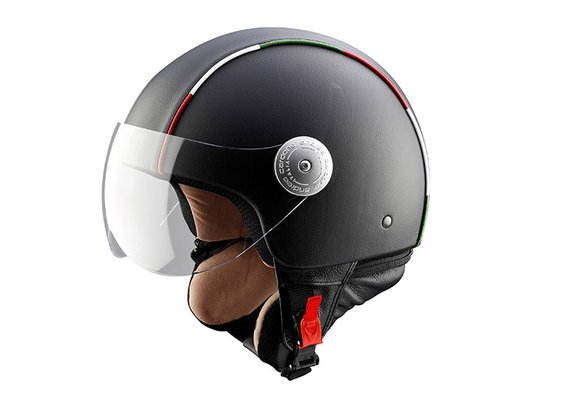 CP011 Leather Helmet by Andrea Cardone