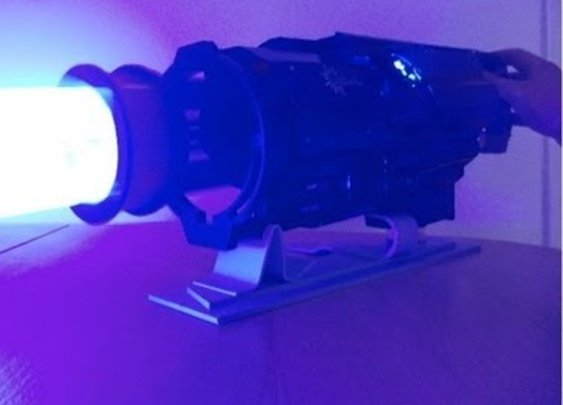 What Could Be Better Than a Laser? Try a Six-Barrel Laser Gatling Gun