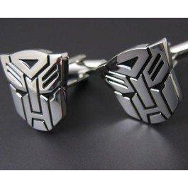Silver Transformer Autobot Cufflinks