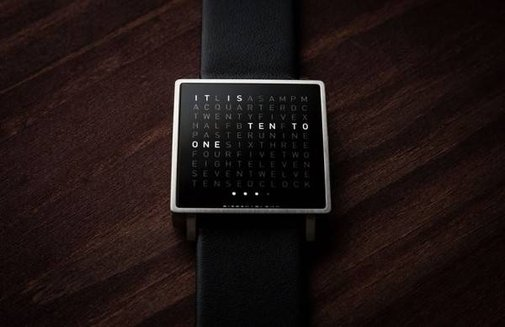 QLOCKTWO W WATCH AND TOUCH CLOCK