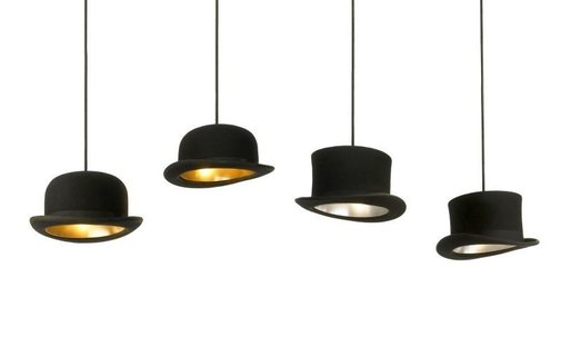 Hats Off: Jeeves and Wooster Pendant Lights by Jake Phipps - Luxury News from Luxury Insider