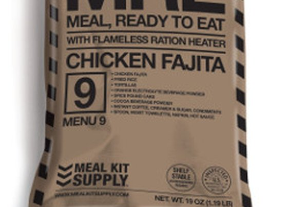 MRE's - Meal-Ready-to-Eat | Meal Kit Supply