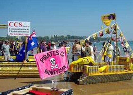 Australia's beer can regatta : Festivals, Australia