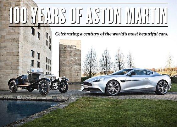 100 Years of Aston Martin « Sharp - Canada's Magazine for Men Sharp – Canada's Magazine for Men