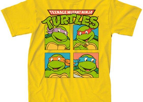 Fab.com | Turtle Squares Tee Men's