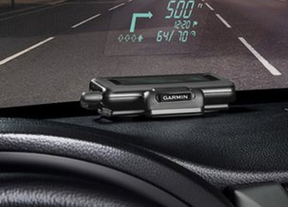 BBC- Smartphone becomes in-car head-up display