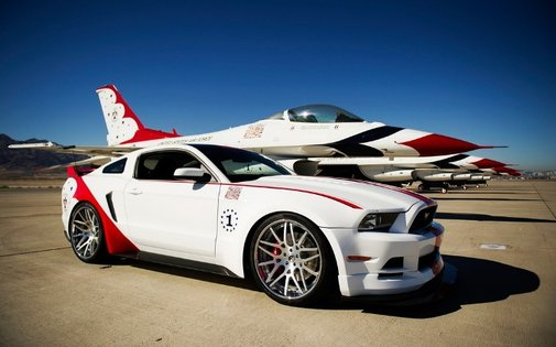 Ford Mustang GT U.S. Air Force Thunderbirds Edition   NSTAutomotive