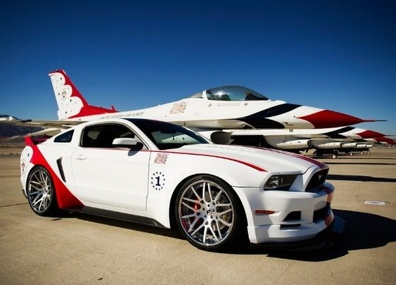 Ford Mustang GT U.S. Air Force Thunderbirds Edition | NSTAutomotive