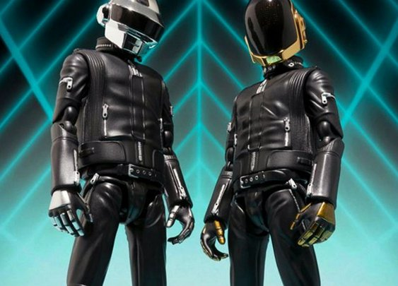 Daft Punk Action Figures  | Cool Material