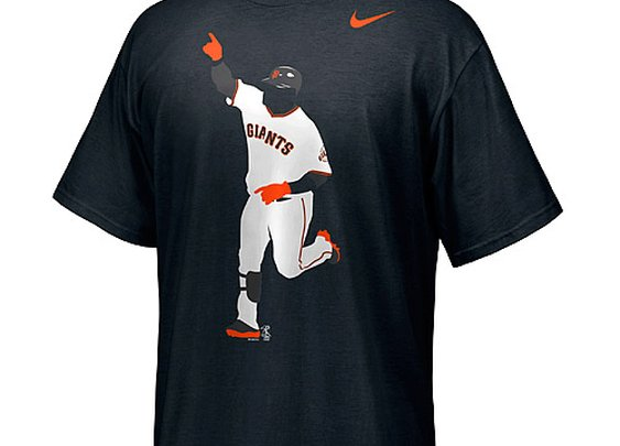 San Francisco Giants Pablo Sandoval Herotage T-Shirt by Nike - MLB.com Shop