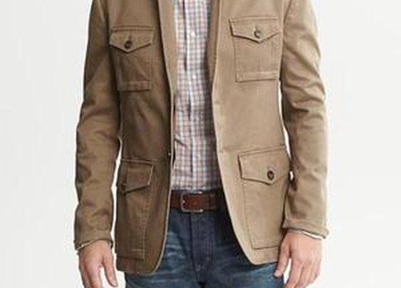 Heritage Twill Blazer - Outerwear - Blazers