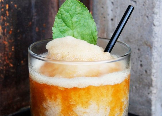 Try this frozen dark 'n stormy recipe: perfect for summer | Food Republic