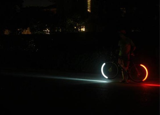 Red LED Revolights for Bicycle Wheels | Baxtton