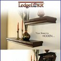 LedgeLokr Hidden gun safe