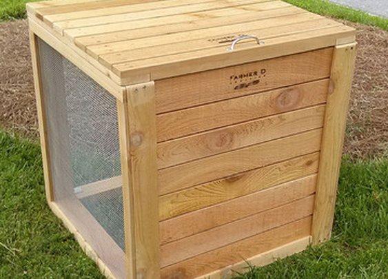 Fab.com | Cedar Compost Bin