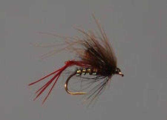 12 Pack Trout Fly Black CDC Hopper Size 10 | eBay