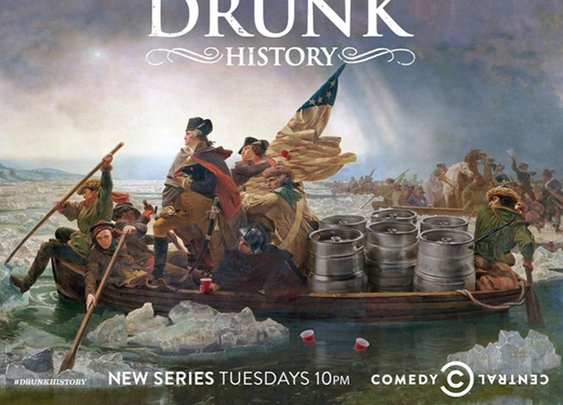 Two Fingers of Drunk History Please : 101 or Less