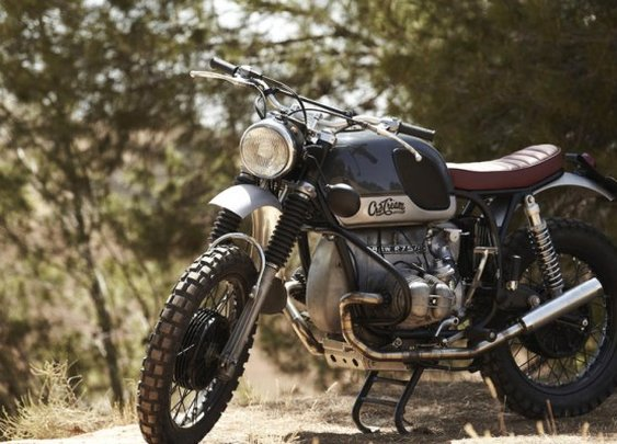 "BMW R 75/5 ""The Challenge"" 