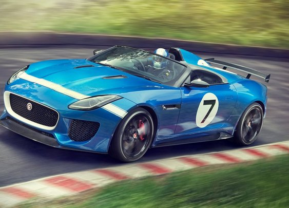Jaguar Project 7 Concept | Uncrate