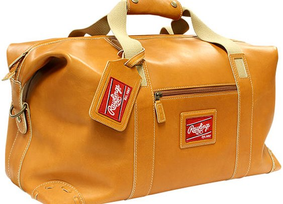 Gotta Have It! Rawlings Premium Leather Duffel Bag: 101 or Less