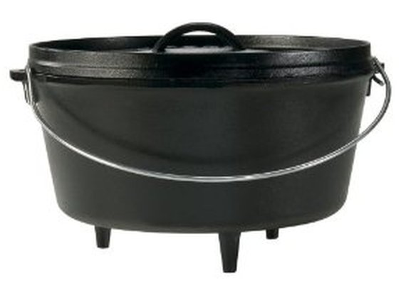 Cast-Iron Camp Dutch Oven from Lodge Logic