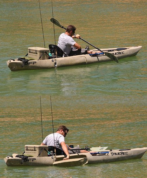 DFP Kayak Lets You Stand And Fish Without Capsizing