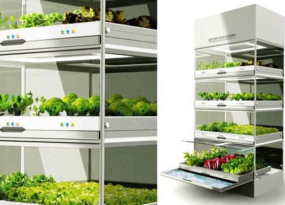 Kitchen Nano Garden | Co.Design: business + innovation + design