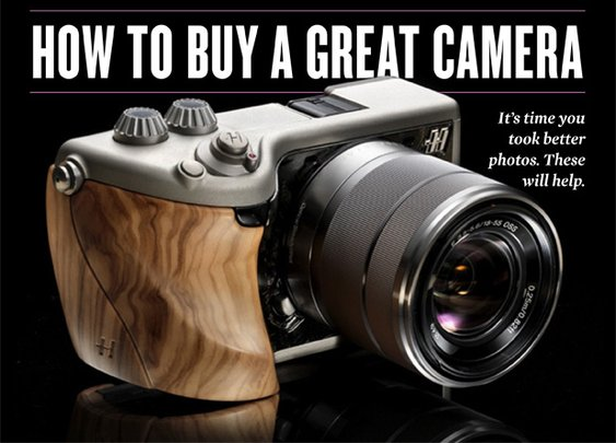 How to Buy A Great Camera « Sharp - Canada's Magazine for Men Sharp – Canada's Magazine for Men