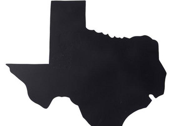 Fab.com | Texas Map Magnet Blackboard