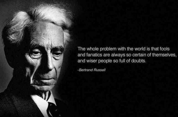Wise People - Bertrand Russell