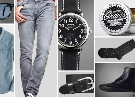 Wear This: Andrew from Electrogent | Cool Material