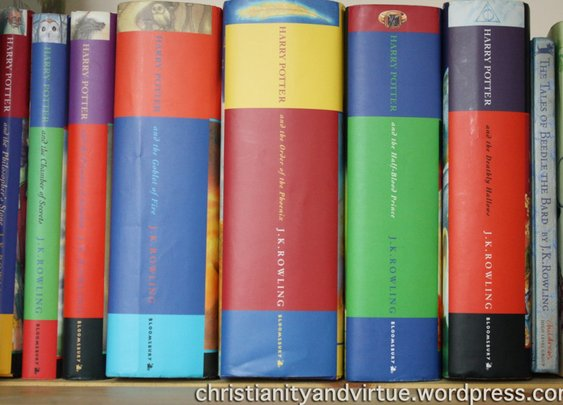In Defence of Harry Potter, Or Harry Potter and the Magic of Christianity « Letters from Nottingham