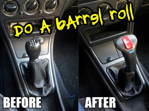 Manual transmission for gamers