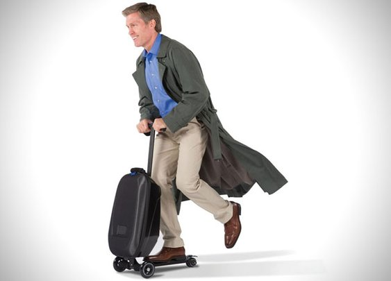 Micro Luggage Scooter Suitcase