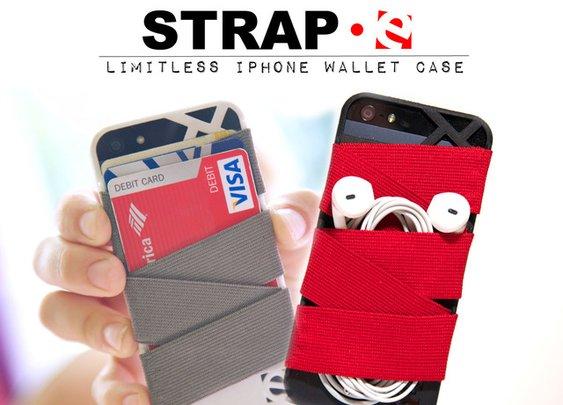 Strap-E Limitless iPhone Wallet Case  — Kickstarter